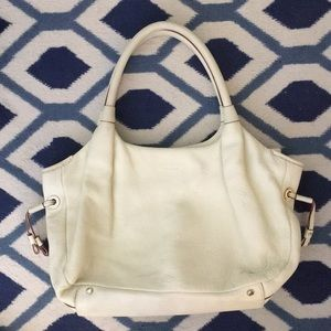Kate Spade Leather White Shoulder Bag